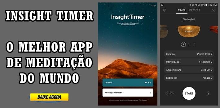 insight timer como funciona